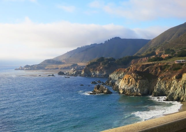 The Big Sur coast in California // FoodNouveau.com
