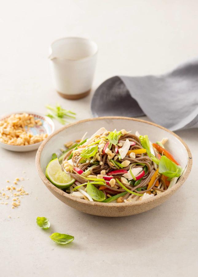 Build-Your-Own Asian Noodle Salad // FoodNouveau.com
