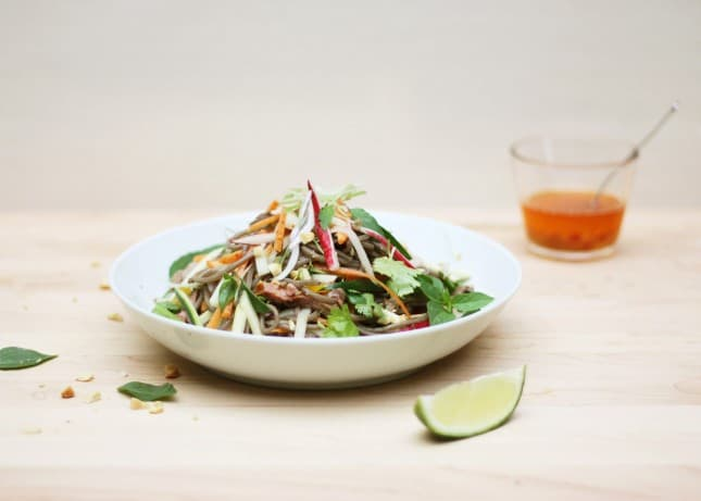 Freestyle Asian Noodle Salad // FoodNouveau.com