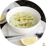 Zucchini and Avocado Cold (or Warm) Soup // FoodNouveau.com