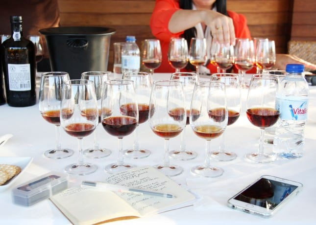 A tasting of port wines at Cálem, Porto // FoodNouveau.com