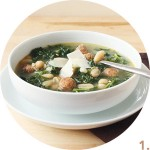 Kale, Sausage, and White Beans Soup // FoodNouveau.com