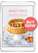 New eCookbook: Sweet Spot: Sweet Spot: Modern, Better-for-You Dessert Recipes, with Clever Tips to Bake (Mostly) Dairy Free // FoodNouveau.com