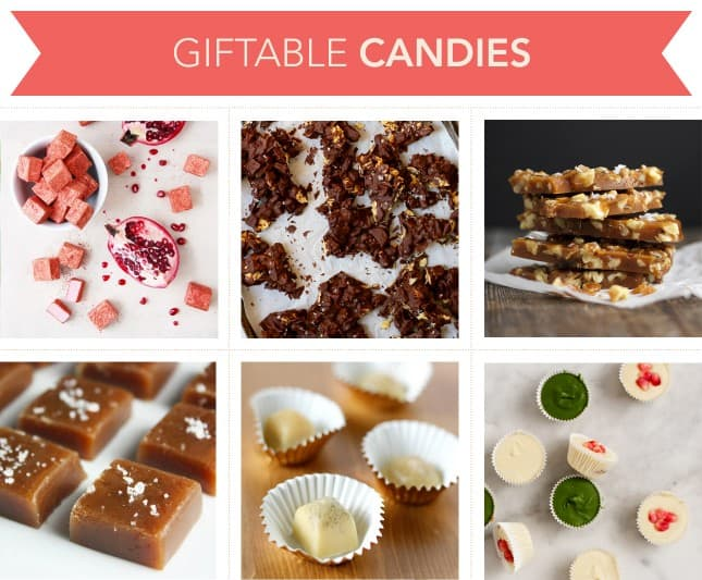 Giftable Candies // FoodNouveau.com