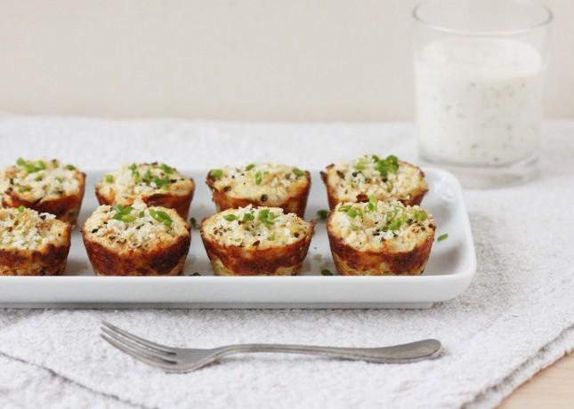 Crunchy Mini Crab Cakes with Lemon-Dill Mayo // FoodNouveau.com