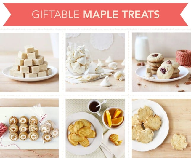 Giftable Maple Treats // FoodNouveau.com