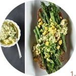Asparagus with Hard-Boiled Egg Vinaigrette // FoodNouveau.com