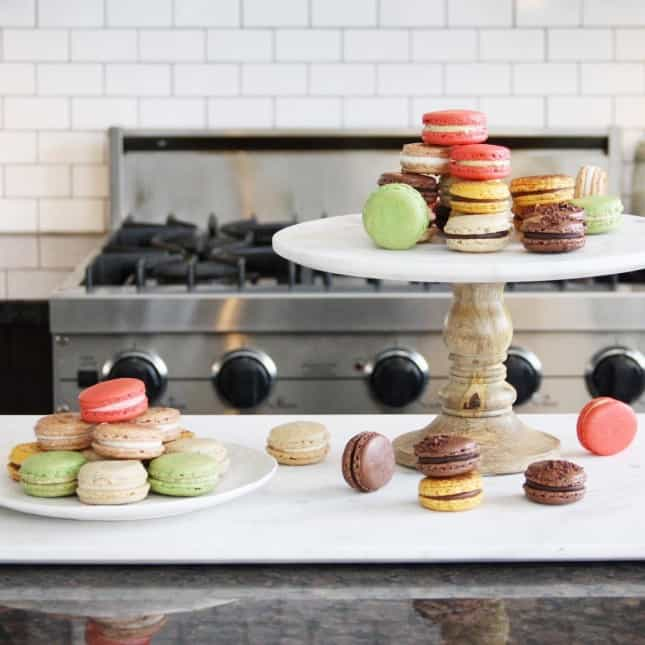 How to Make French Macarons, a Detailed, Step-by-Step Recipe with Video Class // FoodNouveau.com