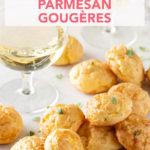 Champagne and Parmesan Gougères // FoodNouveau.com