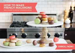 I'm a Skillshare Teacher! And Here's My New Video Class: How to Make French Macarons