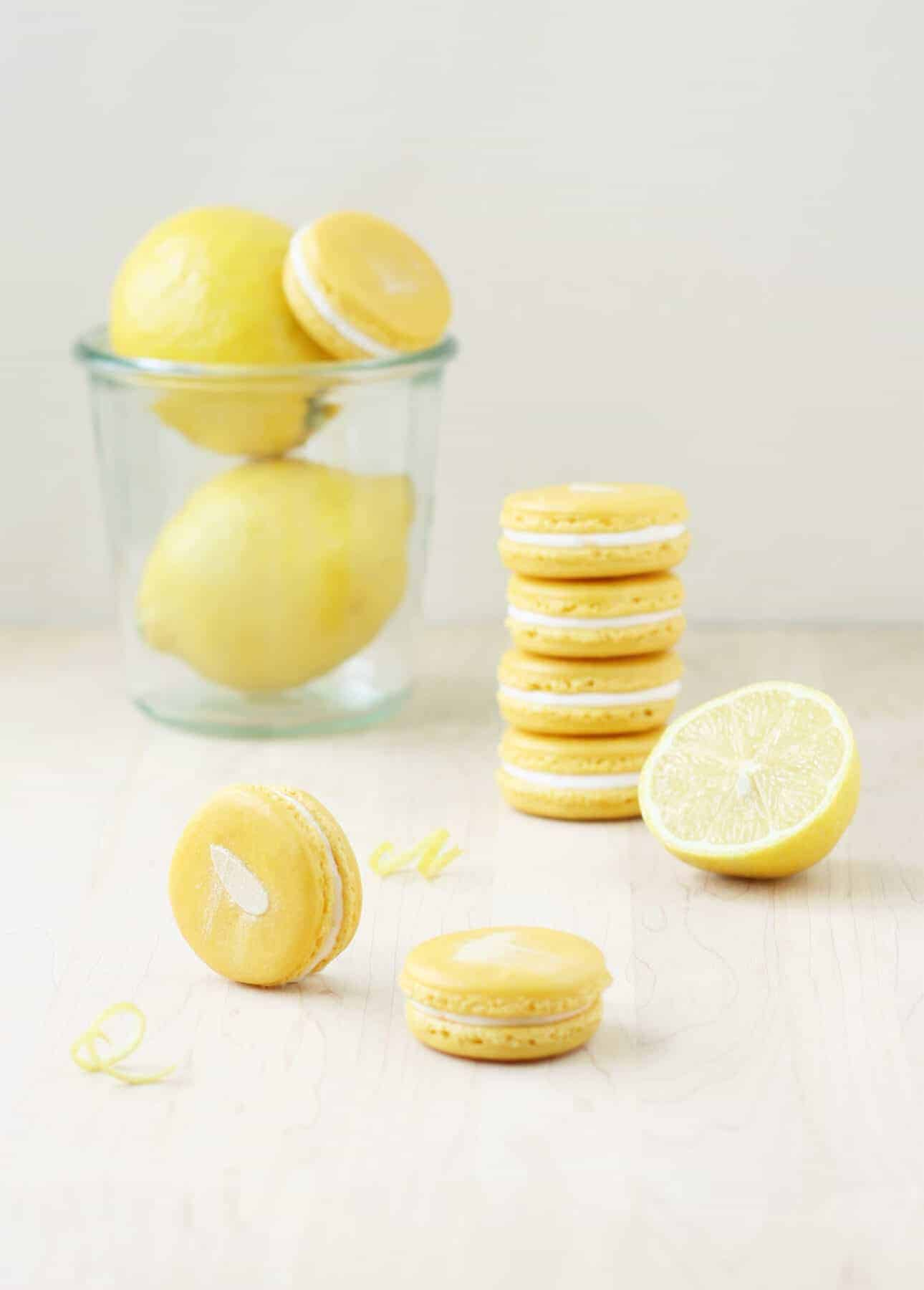Lemon Cakes And Pies