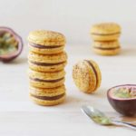 Milk Chocolate and Passion Fruit Macarons // FoodNouveau.com