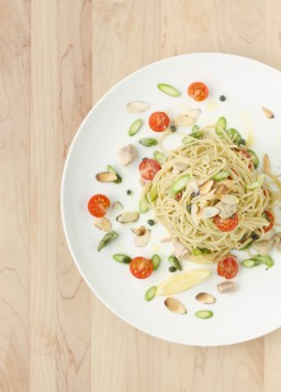 Quick Fresh Asparagus and Tuna Pasta