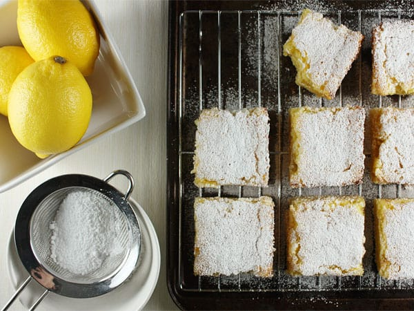 Classic Lemon Bars // FoodNouveau.com