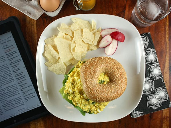 Aromatic Egg Salad // FoodNouveau.com