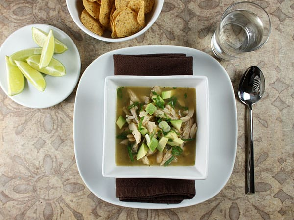 Quick & Easy Mexican Chicken Soup // FoodNouveau.com
