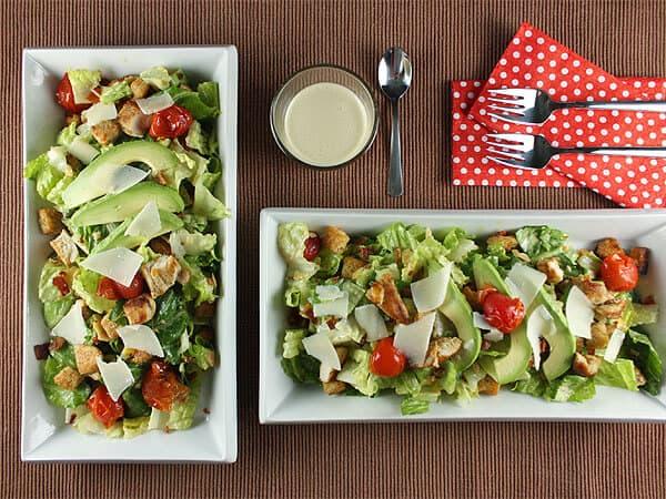 Modern Caesar Salad // FoodNouveau.com