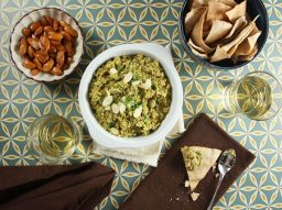 Green Olive, Lemon, and Almond Tapenade