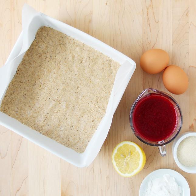 Pressed Crust // Fruit Square Recipes for All Seasons: A Versatile Formula to Turn Seasonal Bounty into Delightful Treats (Dairy-Free, Gluten-Free Options) // FoodNouveau.com