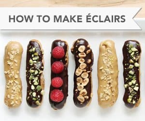 How to Make Éclairs // FoodNouveau.com