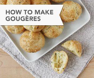 How to Make Gougères // FoodNouveau.com