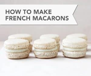 How to Make French Macarons // FoodNouveau.com