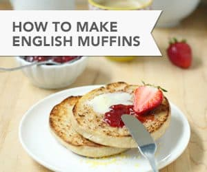 How to Make Whole Wheat English Muffins // FoodNouveau.com