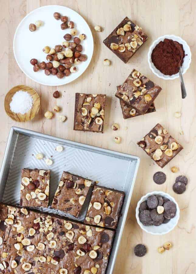 Textbook Fudgy Brownies // FoodNouveau.com