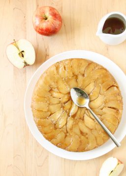 Tatin Cake (a.k.a. Upside-Down Apple Cake with Maple Caramel Sauce)