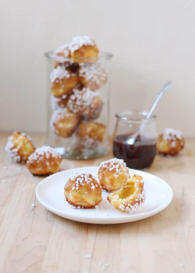 {New Video Class} All About Choux: Sweet and Savory Puffed Treats, from Éclairs to Gougères // FoodNouveau.com