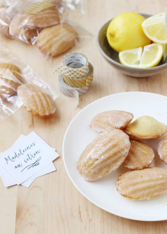 Lemon-Glazed Madeleine Recipe — Dishmaps