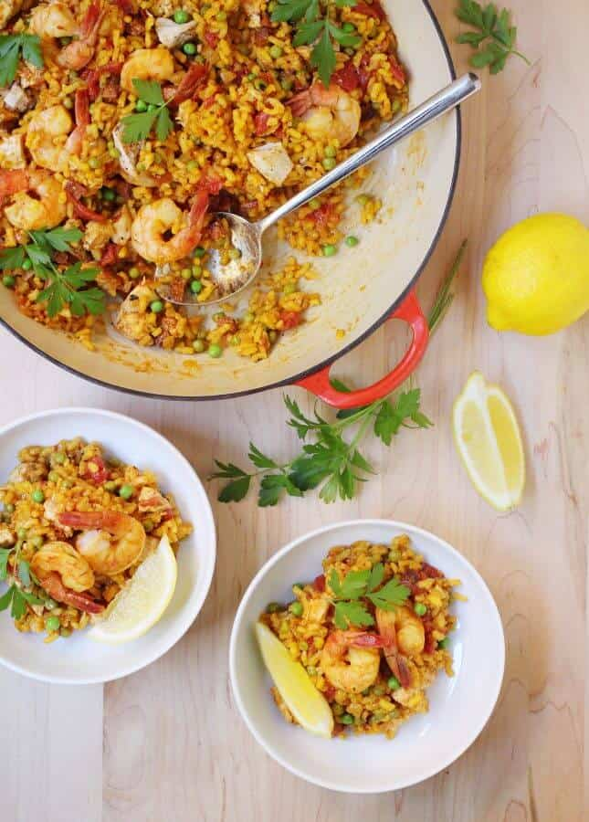 Weeknight Paella // FoodNouveau.com