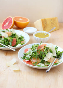 Grapefruit, Fennel, and Parmesan Salad // FoodNouveau.com