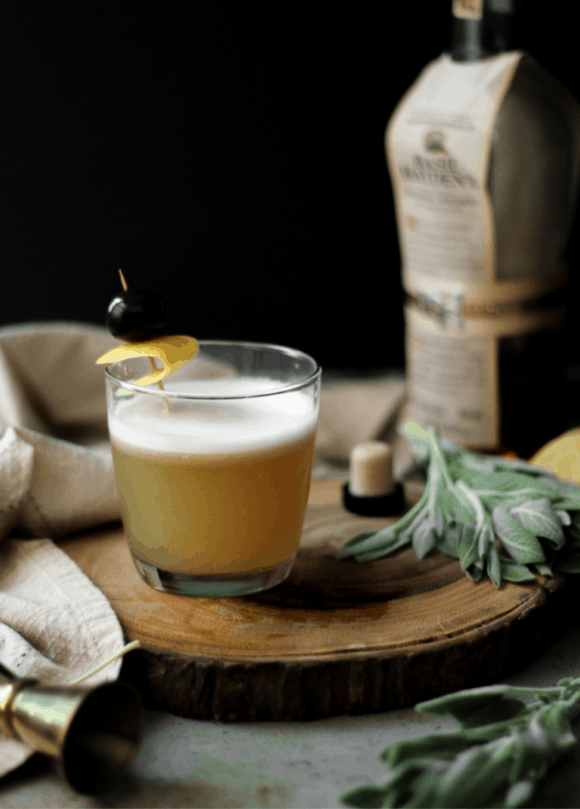 Maple Whiskey Sour // Food Nouveau