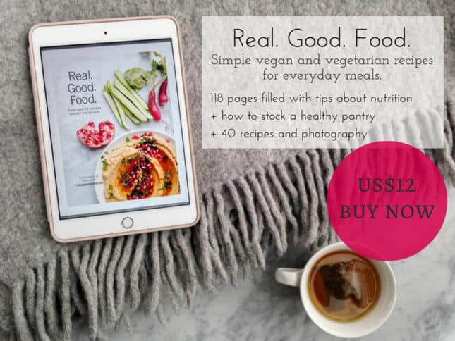 Real. Good. Food. eCookbook by Eyecandypopper.com // FoodNouveau.com