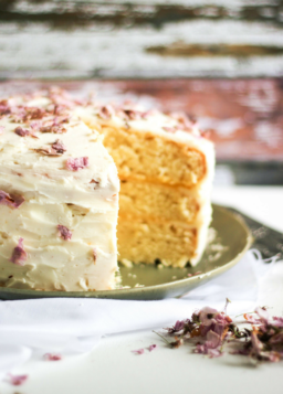 {Cooking with Friends} Spring Cherry Blossom Lemon Cake, by She Eats