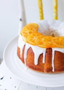 Meyer Lemon Bundt Cake with Candied Lemons, by Simple Bites // FoodNouveau.com