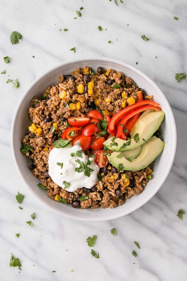 {Cooking with Friends} Sweet Potato Taco Bowl, by My ...