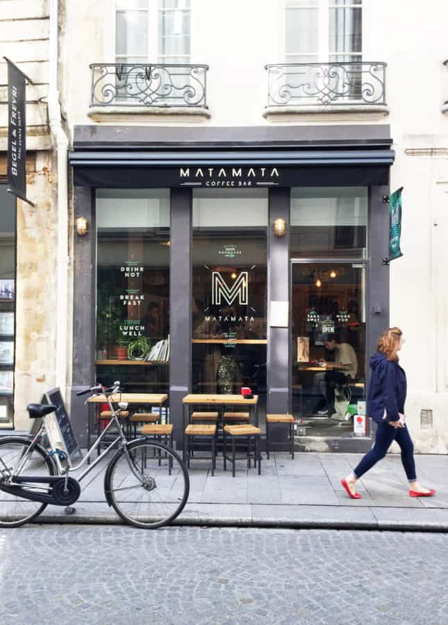 Matamata, a third-wave coffeeshop in Paris // FoodNouveau.com