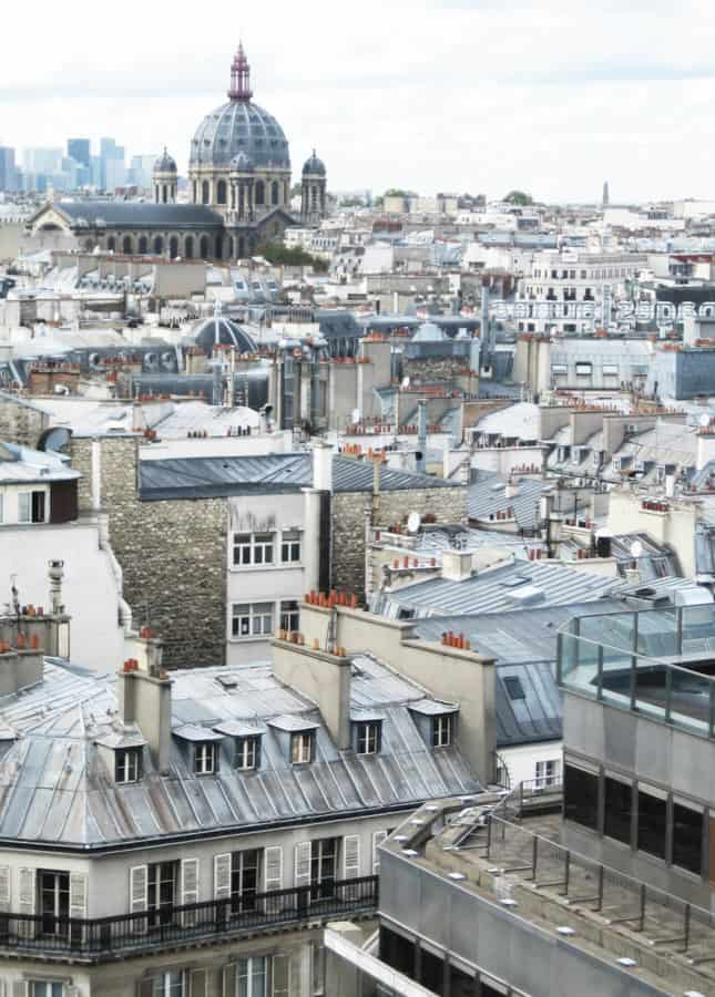 The roofs of Paris // FoodNouveau.com