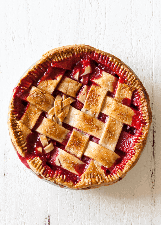 Rhubarb Berry Pie, by Style Sweet CA // FoodNouveau.com
