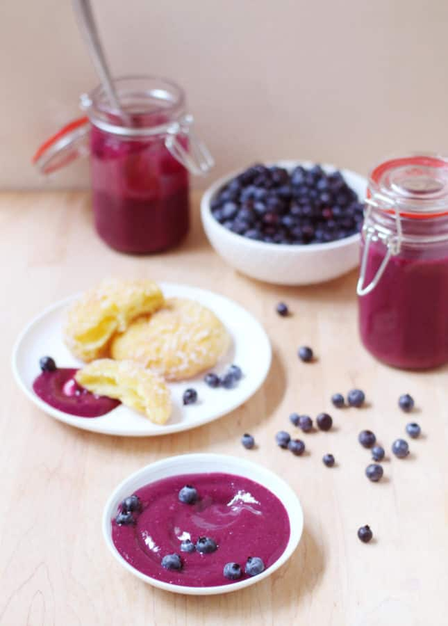 Blueberry Curd // FoodNouveau.com