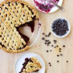 Classic Lattice-Top Wild Blueberry Pie // FoodNouveau.com