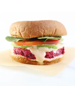 {Cooking with Friends} Gluten-Free Veggie Burgers with Sriracha Mayo, by From Scratch Fast
