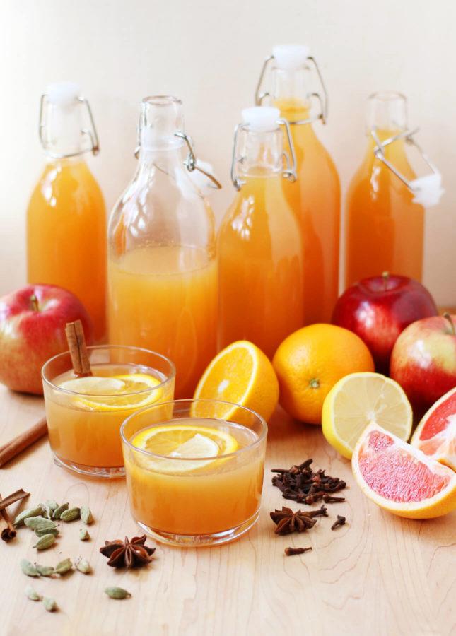 Mulled Citrus Cider // FoodNouveau.com