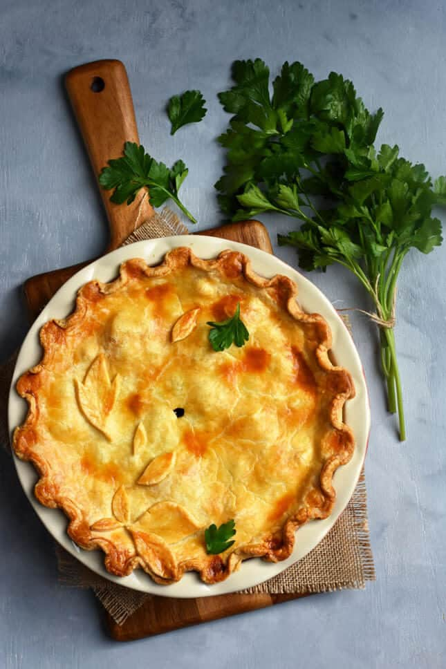 Butternut Squash Tourtiere from Berry, by Pardon Your French // FoodNouveau.com