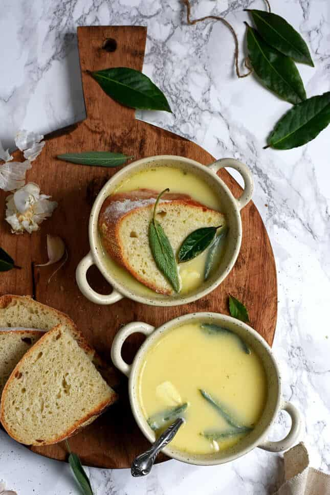 Garlic Sage Cure-all Soup from Provence, by Pardon Your French // FoodNouveau.com