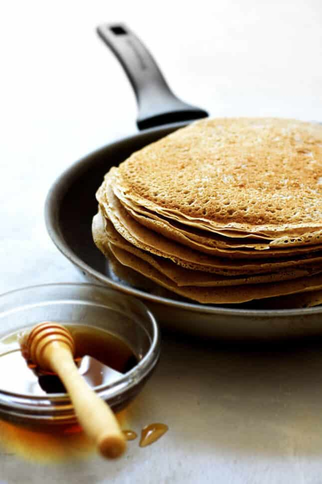 Buckwheat Pancakes from Auvergne, by Pardon Your French // FoodNouveau.com