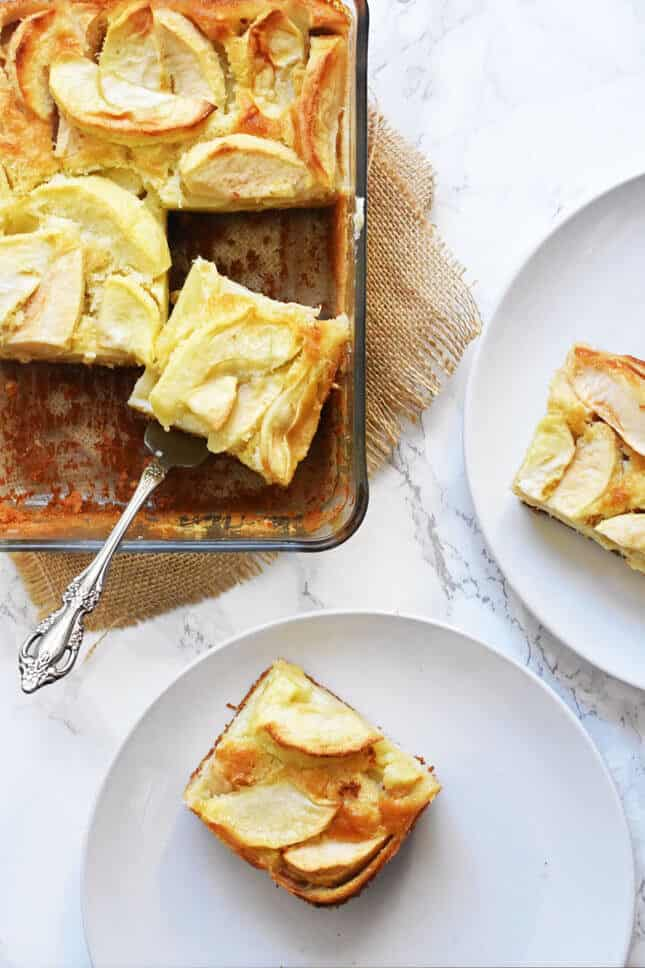Calvados and Apple Flan from Normandy, by Pardon Your French // FoodNouveau.com