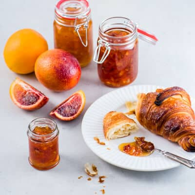 Small-Batch Citrus Marmalade, a recipe from the cookbook Simply Citrus, by Marie Asselin